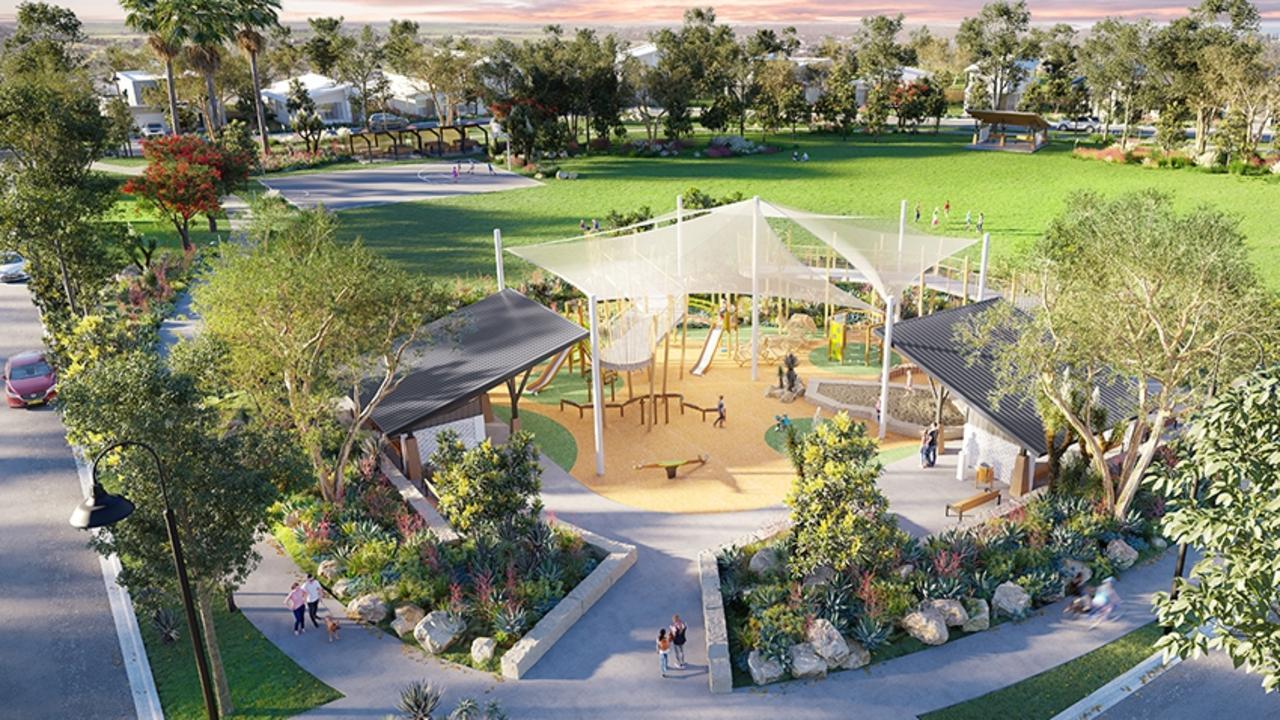 South Beach Elliott Heads park impression.