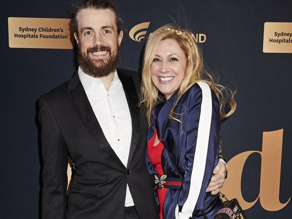 Mike Cannon-Brookes and wife Annie.
