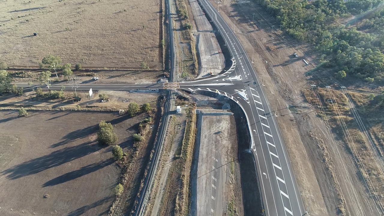 Dawson Highway-Three Chain Road intersection