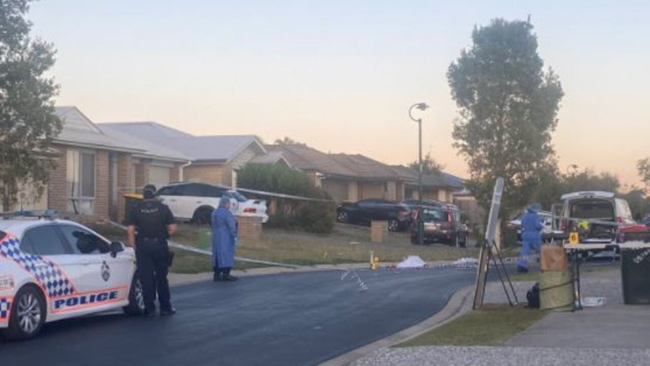 A man has died of his injuries after being tasered and shot by police following an incident north of Brisbane overnight. Picture: 9 News