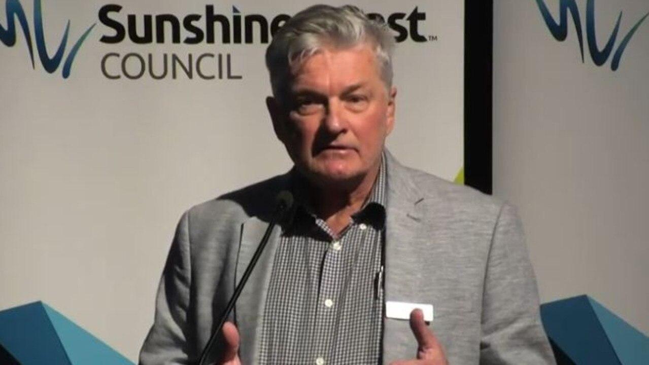 Sunshine Coast Mass Transit Plan project manager Ken Deutscher gave a project update to Sunshine Coast Councillors on August 27.