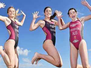 Sibling bond drives sisters to triathlon triumph