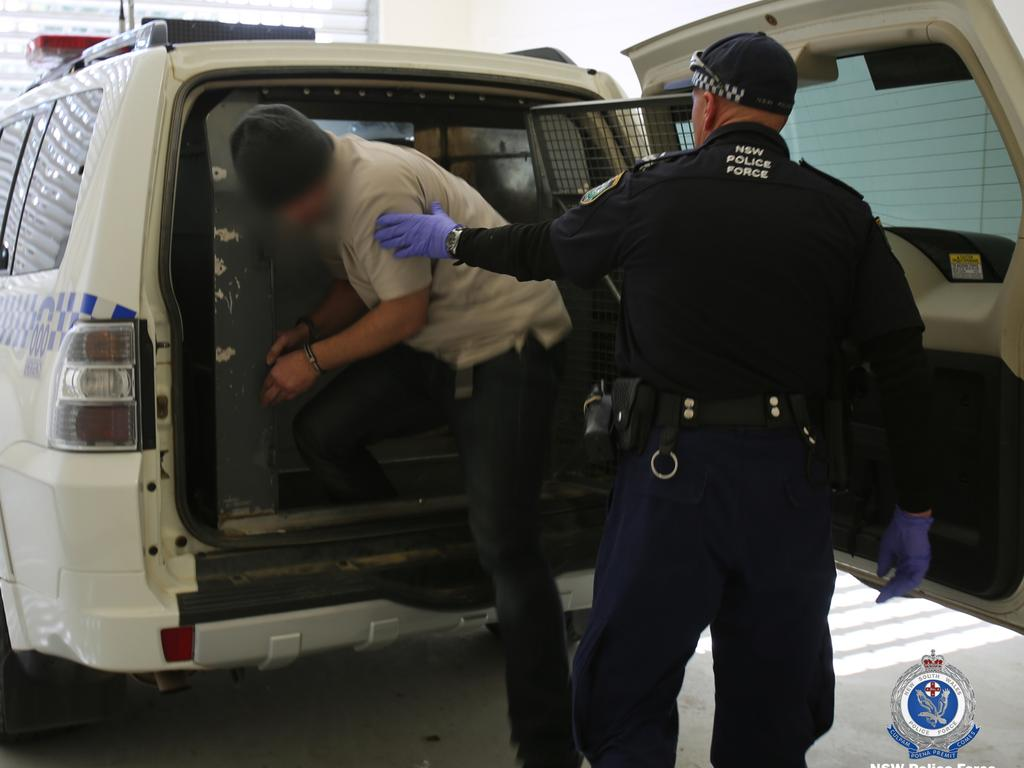 More arrests are expected. Picture: NSW Police