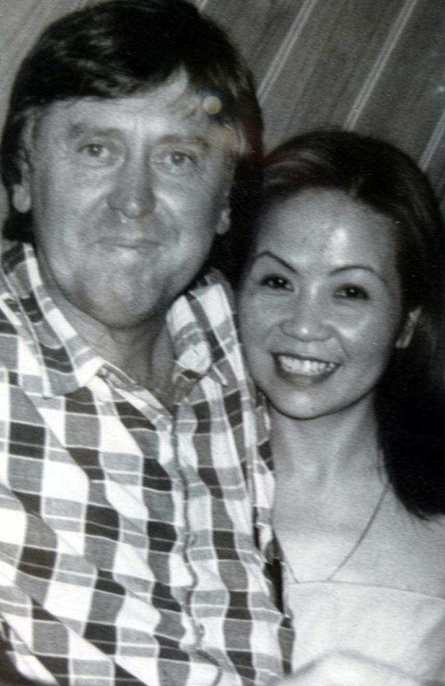 Steve Gulyas and Tina Nhonthachith who were shot dead in Sunbury. Picture: Peter Ward