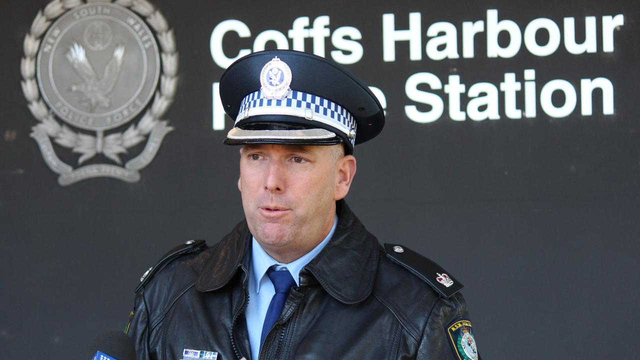Coffs/Clarence Police District Crime Manager, Detective Chief Inspector Guy Flaherty.