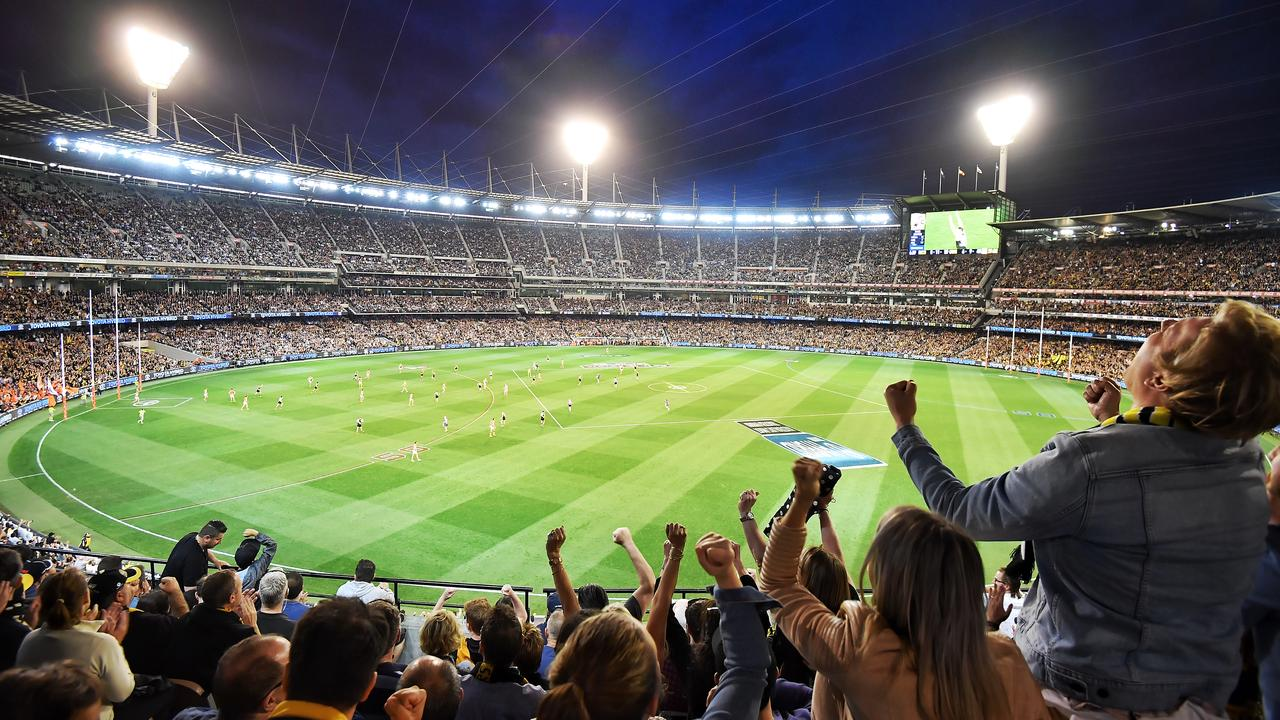 Brisbane makes pitch for AFL's first night Grand Final