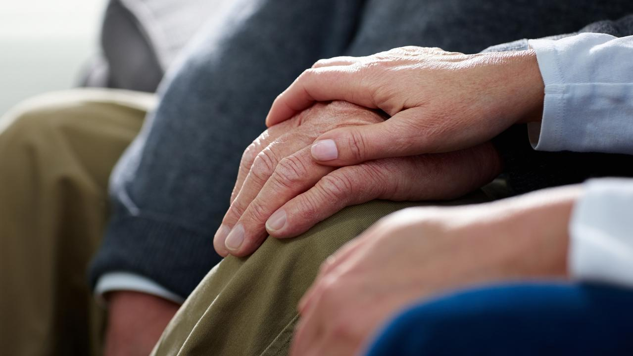 Aged care facilities are not letting loved ones to visit.