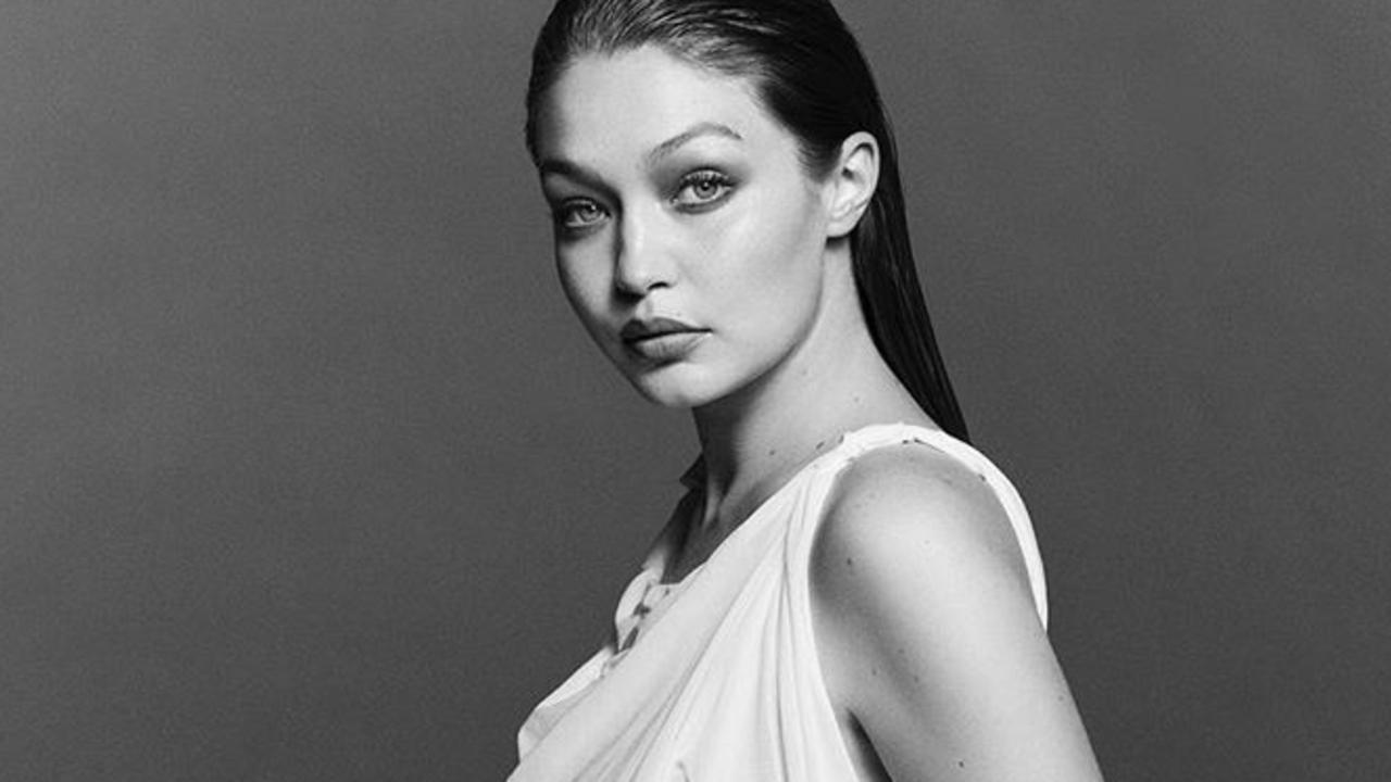 Gigi Hadid has uploaded several beautiful photos from a pregnancy photo shoot.