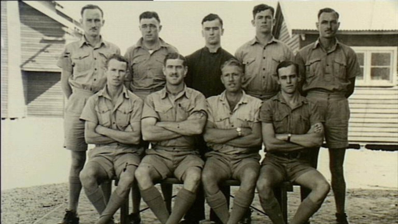 Group portrait of members of the first RAAF Air Gunner's Course at Evans Head. More than 5,500 air force personnel passed through No. 1 Bombing and Gunnery Schools training programs.