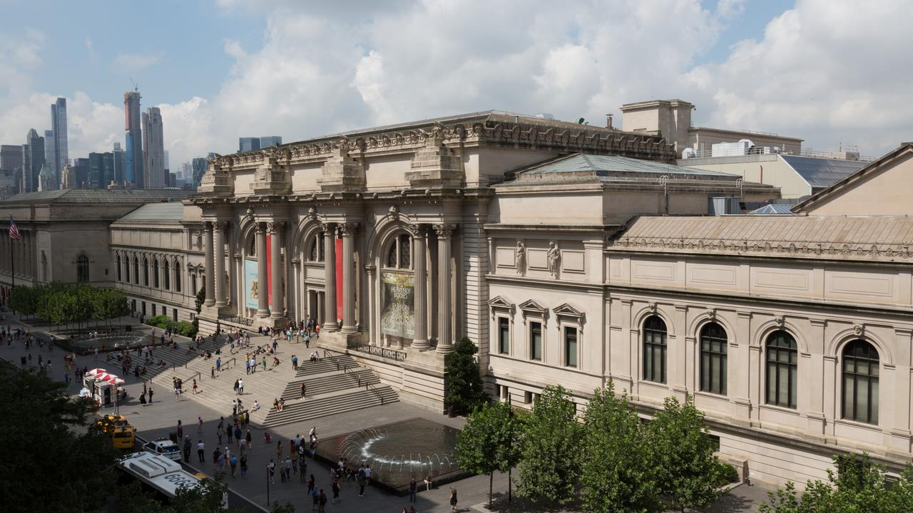 The Metropolitan Museum of Art in New York.