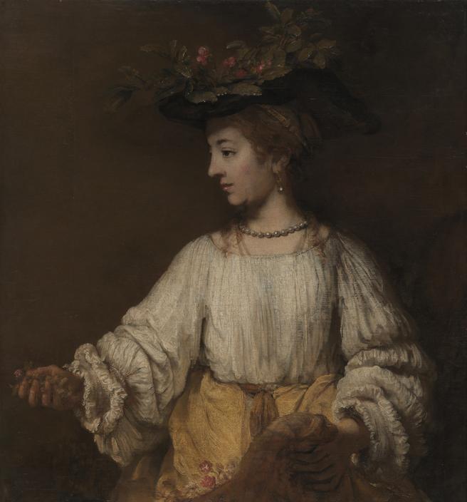Rembrandt's Flora.