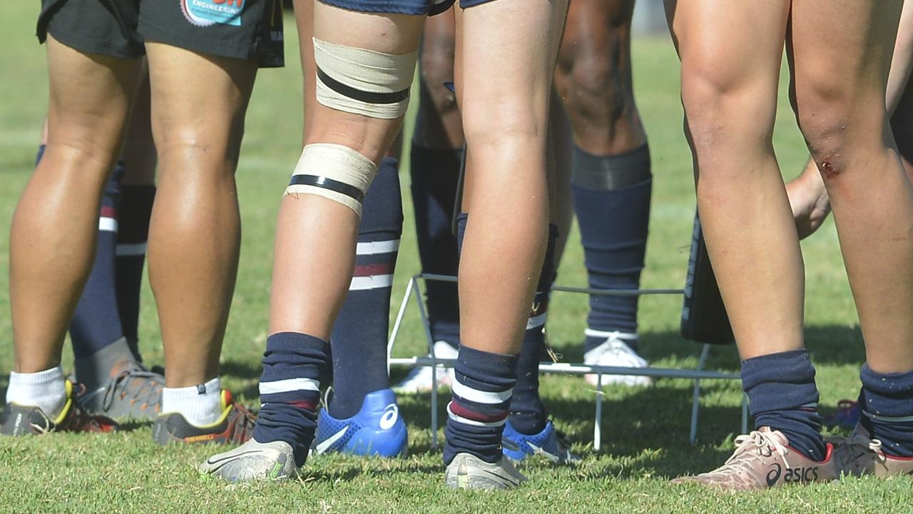 The Mackay Junior Rugby Football League is being sued over an incident that occurred in 2011. Photo: Callum Dick