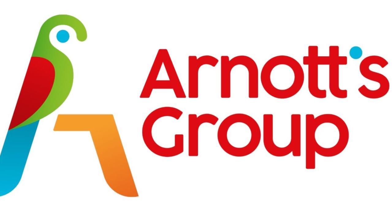 Arnott's new logo has been slammed online. Picture: Twitter