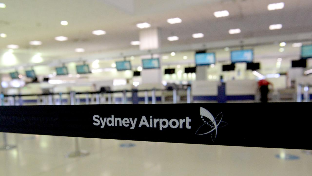 Niall Williams is due to fly from into Sydney in September after his earlier flight was cancelled. Picture: NCA NewsWire/Jeremy Piper