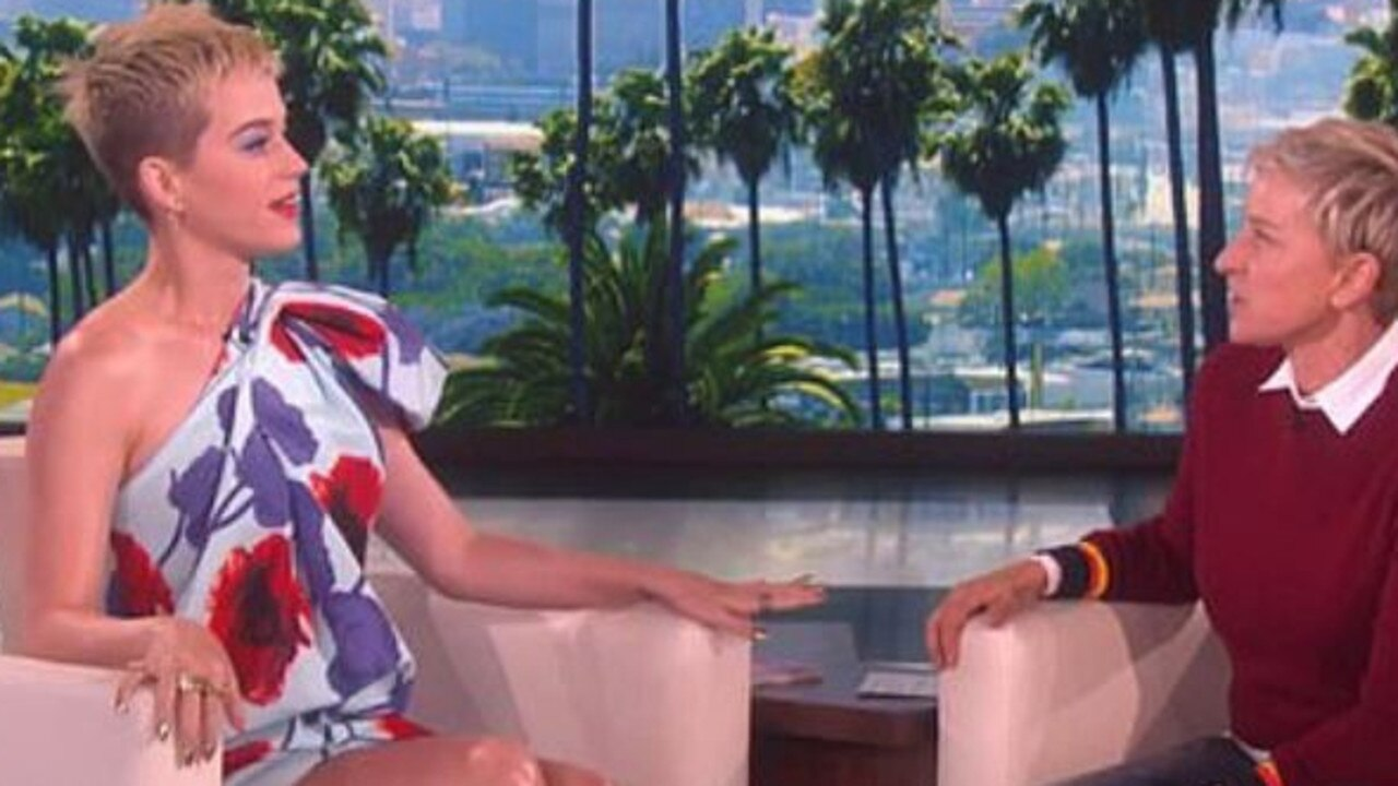 Katy Perry is one of the many celebrities who have come to Ellen's defence. Picture: YouTube
