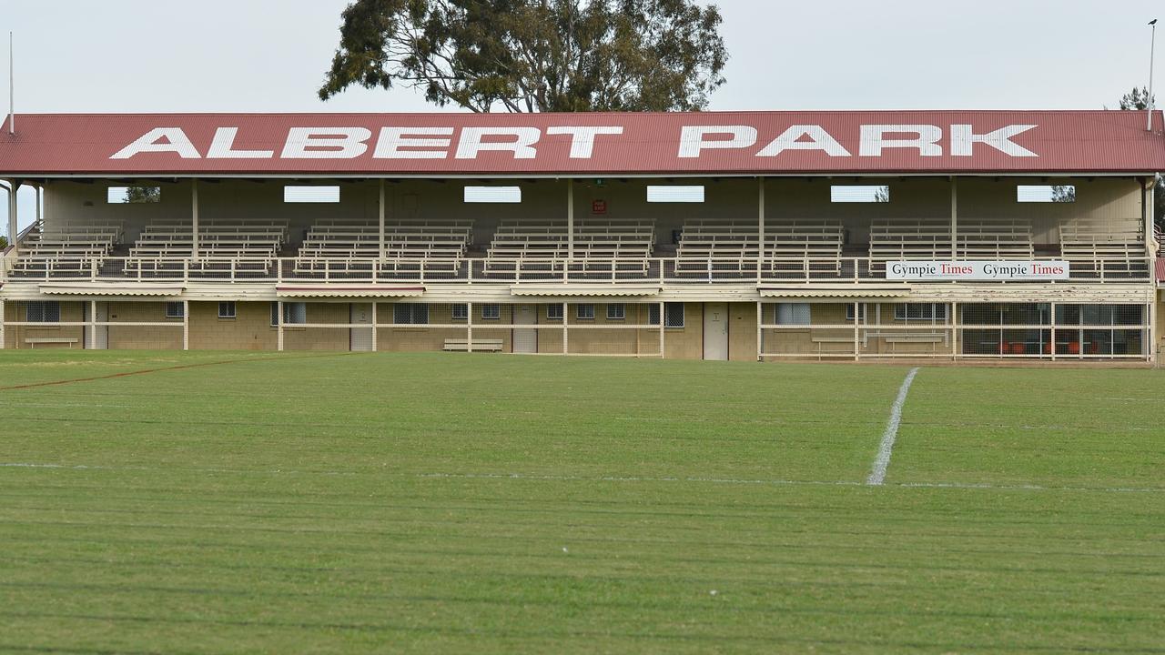 Albert Park sports ground in Gympie. Photo: Renee Albrecht