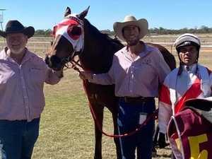 Central Highlands jockey clinches $85K main race win