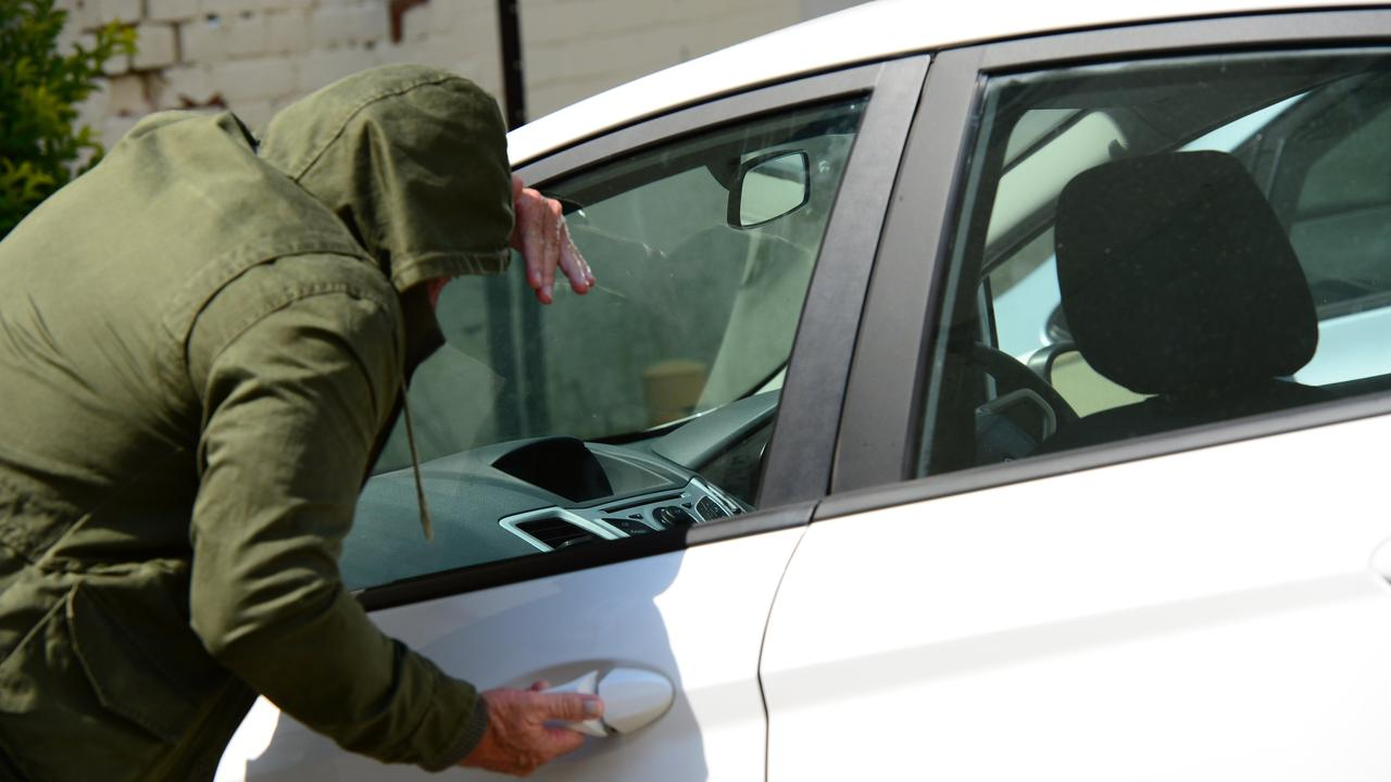 THEFT: A Collinsville woman has admitted to rummaging through unlocked cars. Photo: Sharyn O'Neill FILE PHOTO