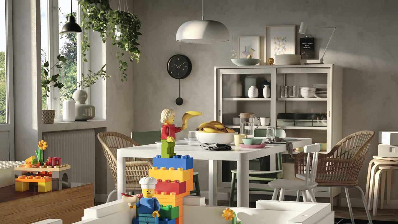 Ikea is helping to keep Lego blocks off the floor.
