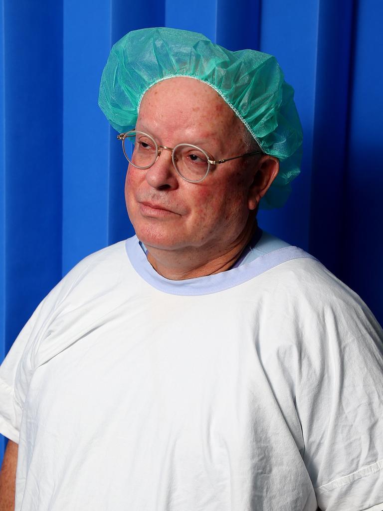 Prince Charles Hospital surgeon Dr Peter Tesar. Picture: AAP/David Clark