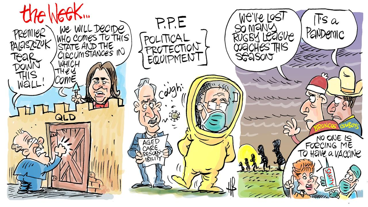 Harry Bruce's take on the week of politics in Mackay.