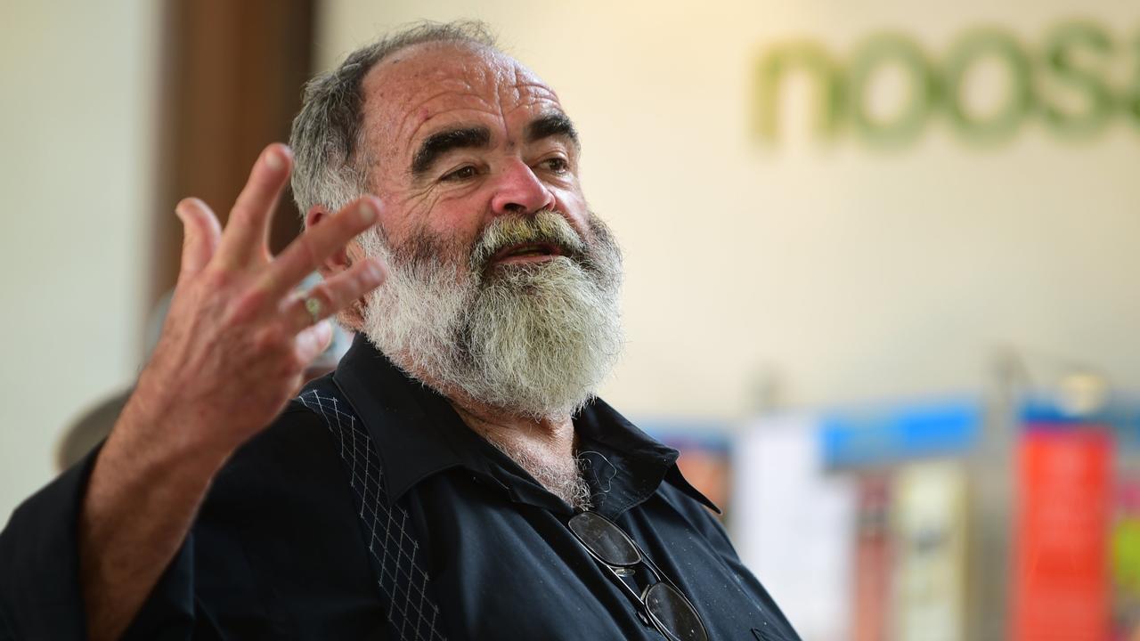 Former Sunshine Coast Mayor Bob Abbot.