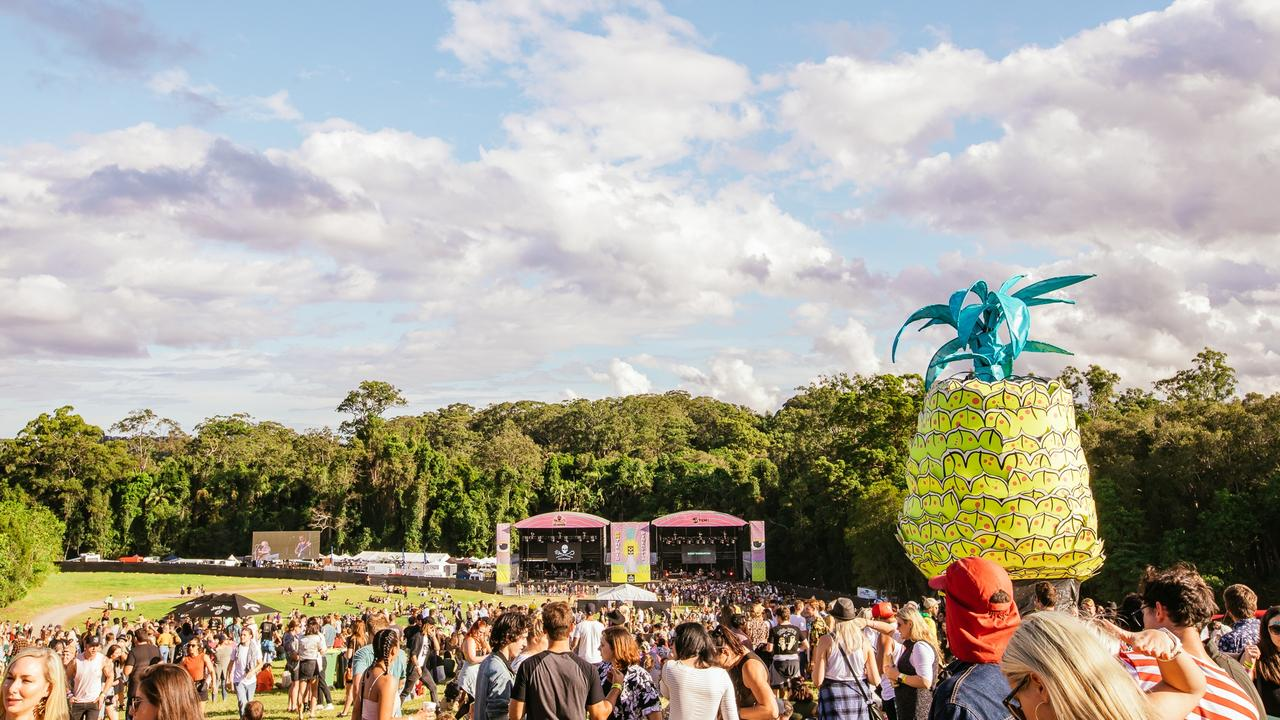 Big Pineapple Music Festival has been cancelled for 2020 but will return in 2021.