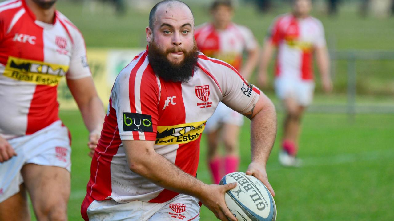 DOING IT TOUGH: Grafton Redmen first grade hooker Zac Mason-Gale will miss Saturday's clash against Lismore City due to the Queensland border restrictions.