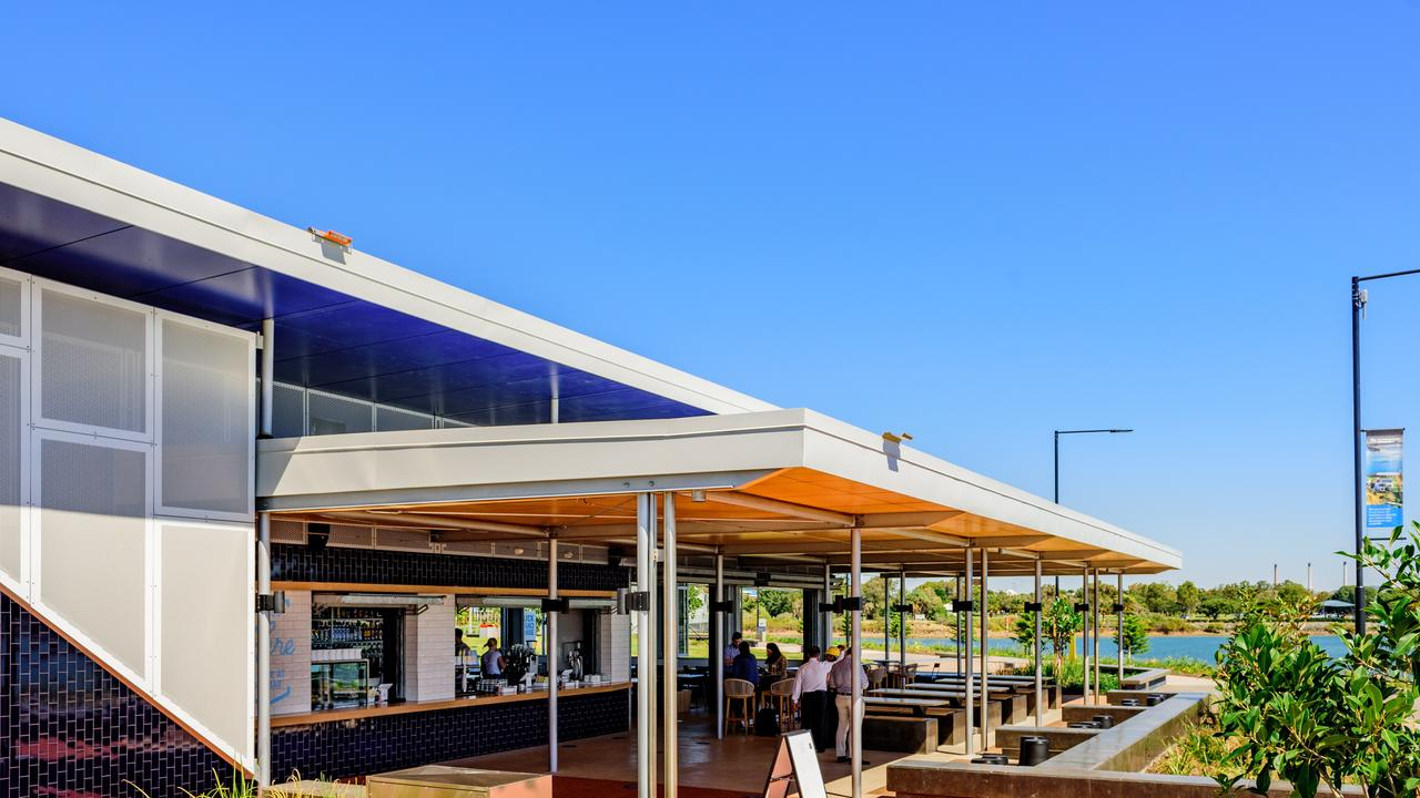 Gladstone's newest attraction - the Auckland House Cafe at the East Shores Stage 1B precinct. Photo supplied.