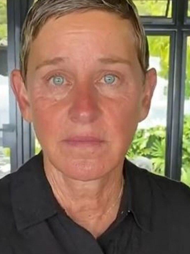 Ellen DeGeneres is suffering a career setback. Picture: Instagram