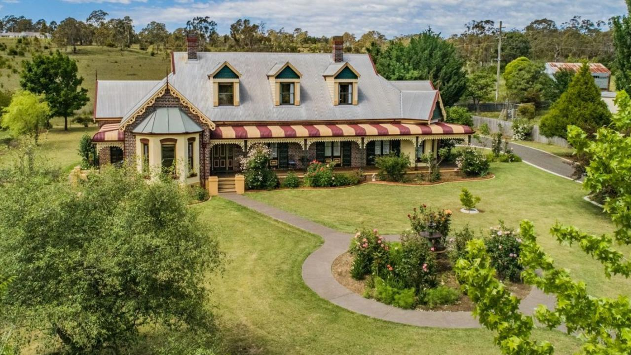 This landmark period residence at 7 Wyevale Close, Armidale is in the same price range as an Old Toonhabbie home in Sydney (below).