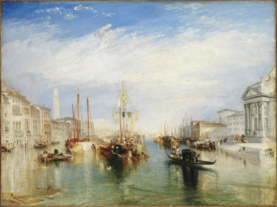 Joseph Mallord William Turner's Venice, From the Porch of Madonna Della Salute.