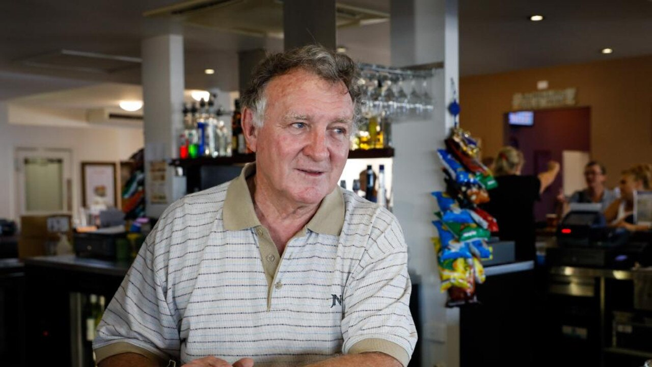 Bowen Chamber of Commerce chairman Larrikin Hotel owner Bruce Hedditch at the Bowen pub. Photo: File