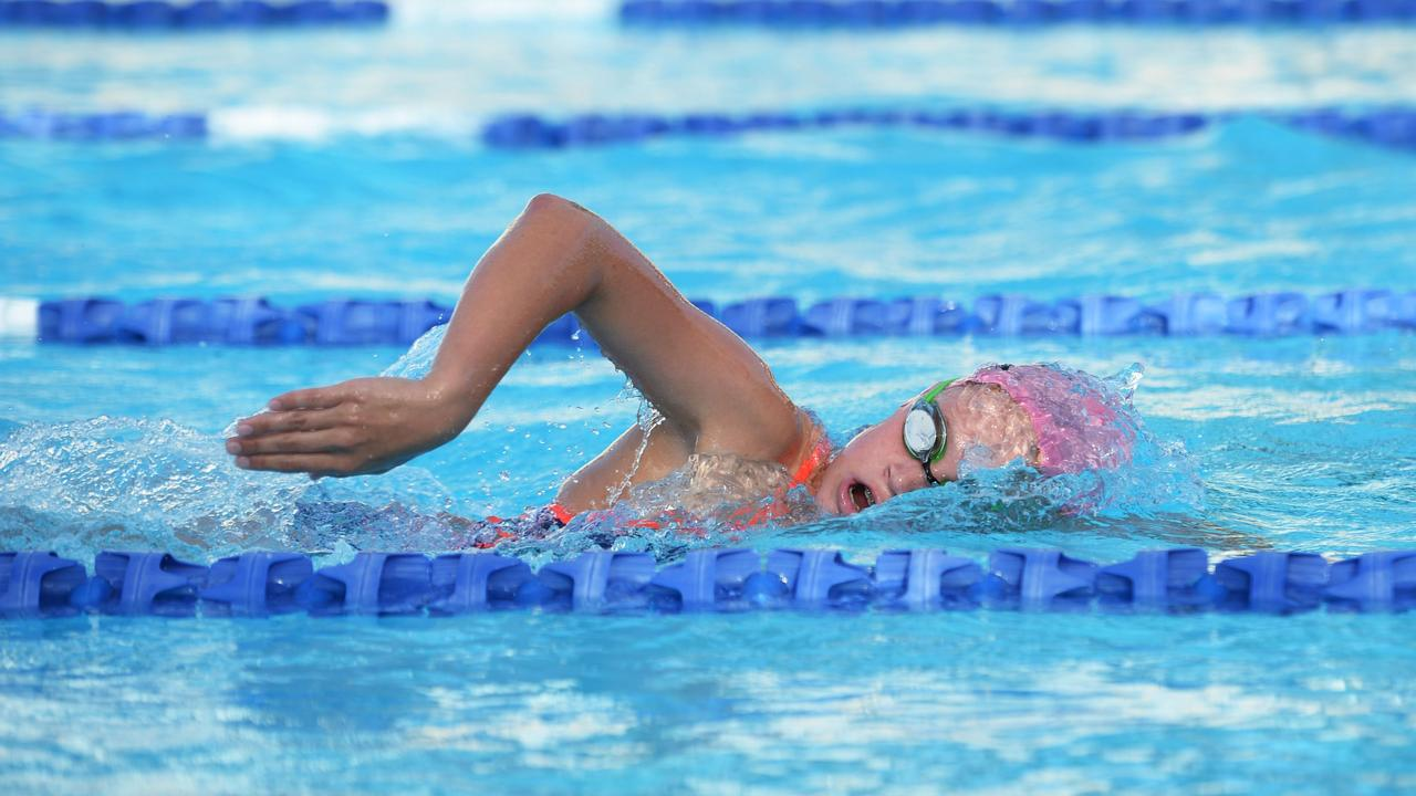 Taryn Roberts will be among more than 70 swimmers in action at the Rocky City Winter Short Course meet in Rockhampton on Saturday.
