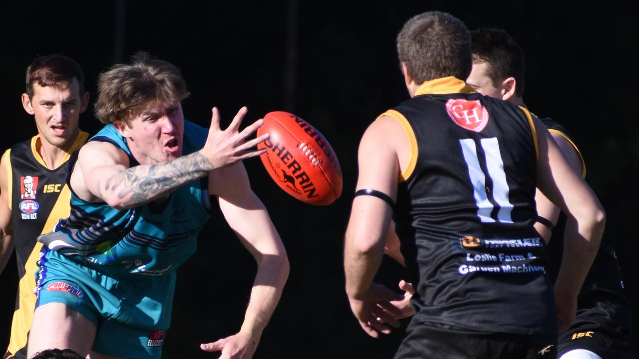Coffs Harbour Breakers face a tough task against AFL North Coast leaders Grafton Tigers at Ellem Oval on Saturday. Picture: Brad Greenshields