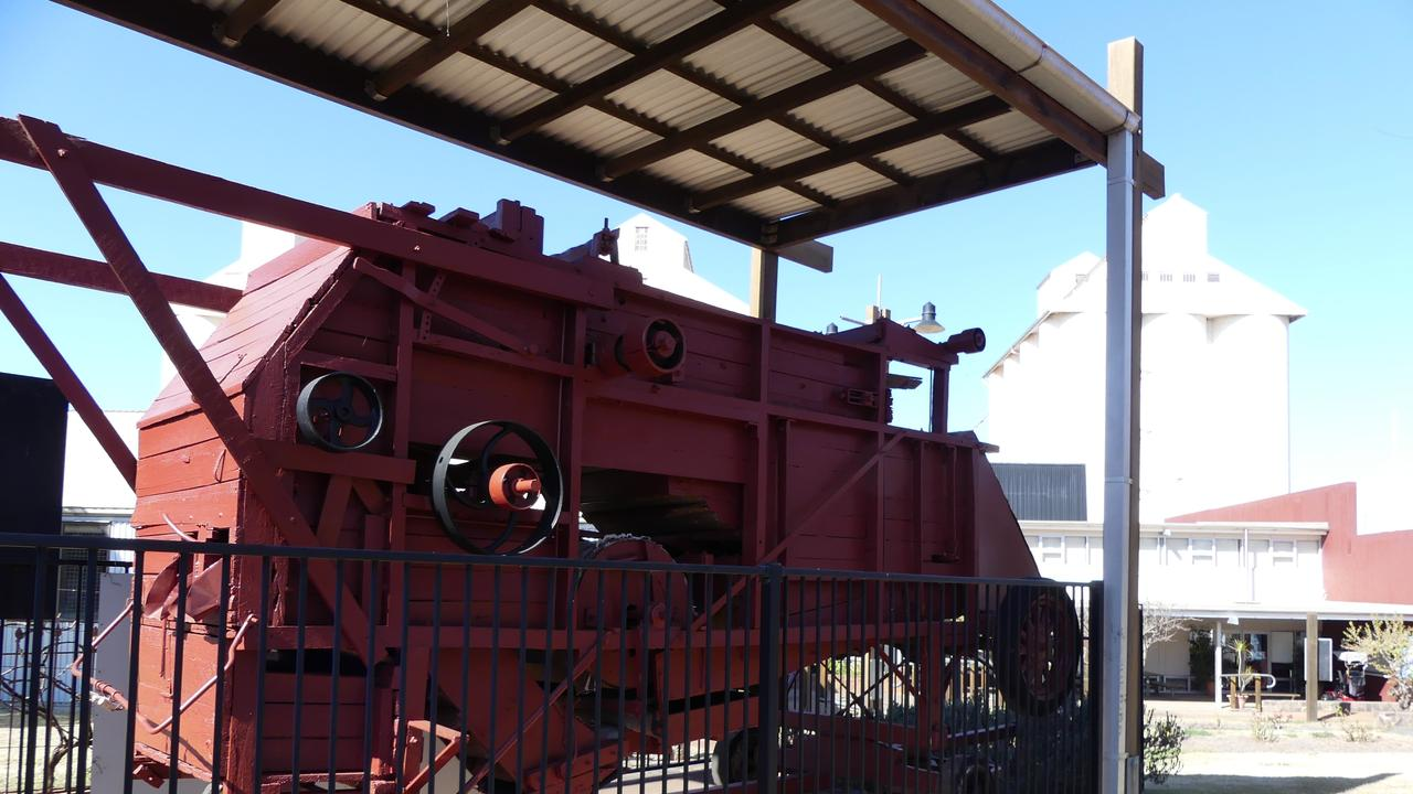 The Kingaroy Heritage Museum's most prized possession is back on its podium. Photo: Holly Cormack.