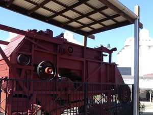 Historic piece of machinery comes home to Kingaroy