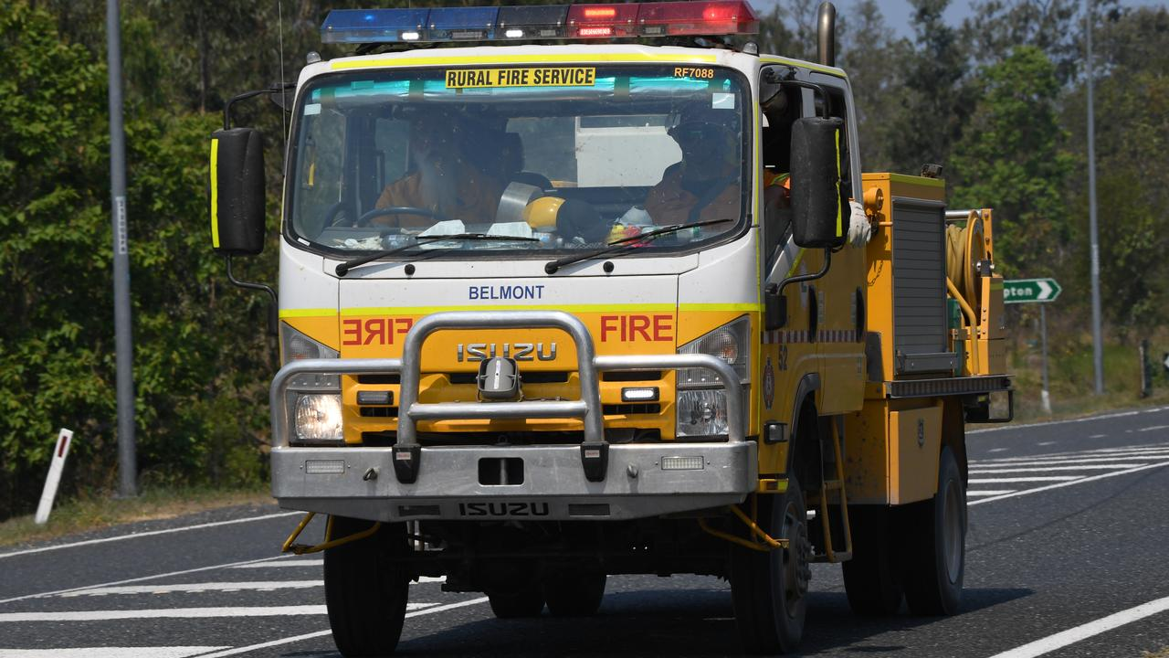 BUSHFIRE THREAT: Rural fire crews have swung into action to fight a fire burning in Bondoola.