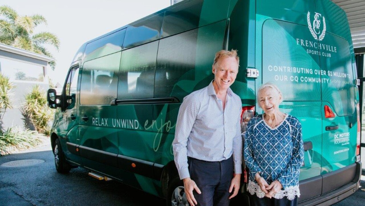 The Frenchville Sports Club also recently launched its courtesy bus last year.
