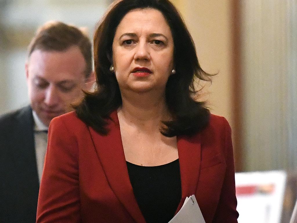 Premier Annastacia Palaszczuk is Clive Palmer's latest nemesis.