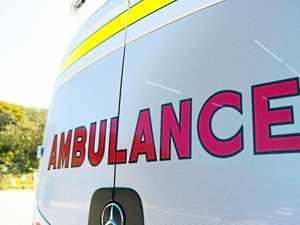 Three treated on scene of two-vehicle crash