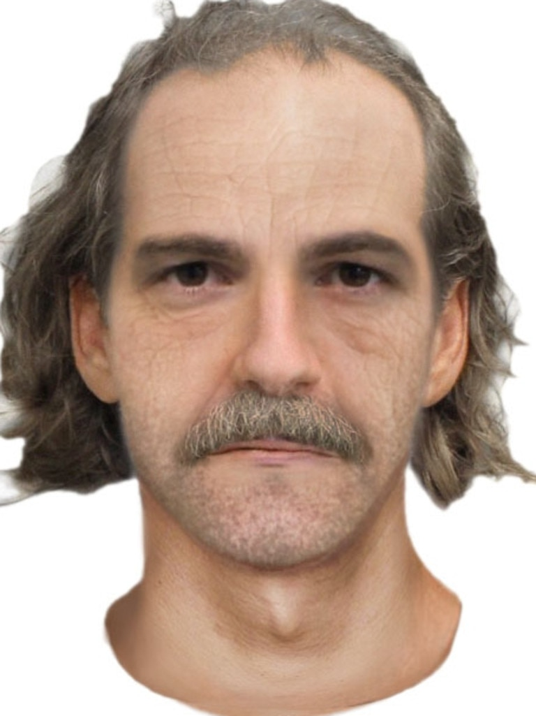 An older version of the suspected killer.