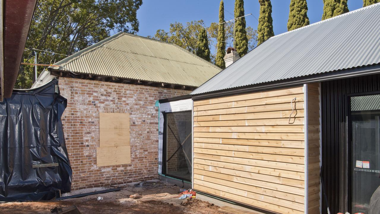 Renovation of 13 Boulton Terrace in Toowoomba. Friday, 28th Aug, 2020.