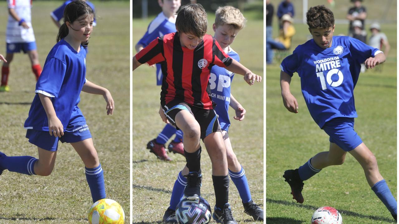 North Coast Football junior action at Woolgoolga's CJMSP on Saturday, August 29, 2020.