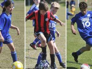 90+ PHOTOS: Junior football frenzy at Woolgoolga
