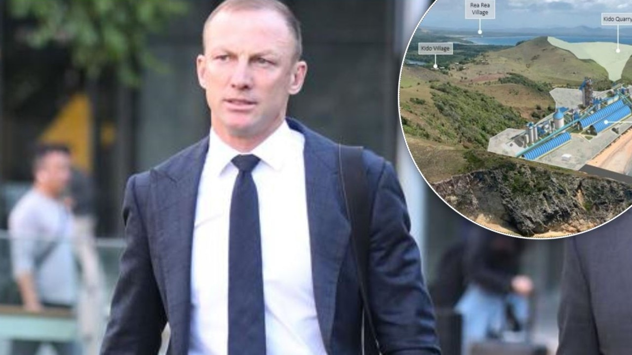 "PNG leaders are furious an Aussie-based mining company has sent Darren Lockyer to ""brainwash"" the league-obsessed nation into supporting a coal mine."