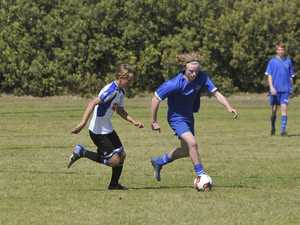 North Coast Football juniors at Woolgoolga
