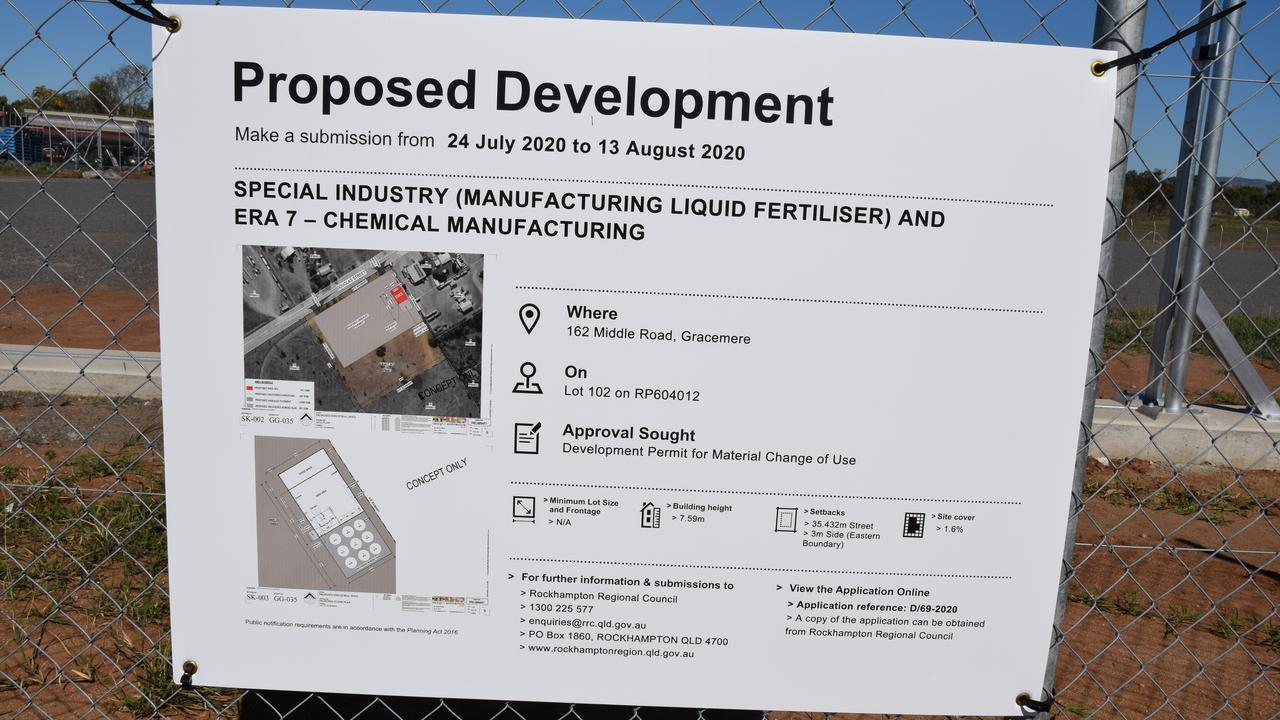 The proposed development in Gracemere's Industrial Area.