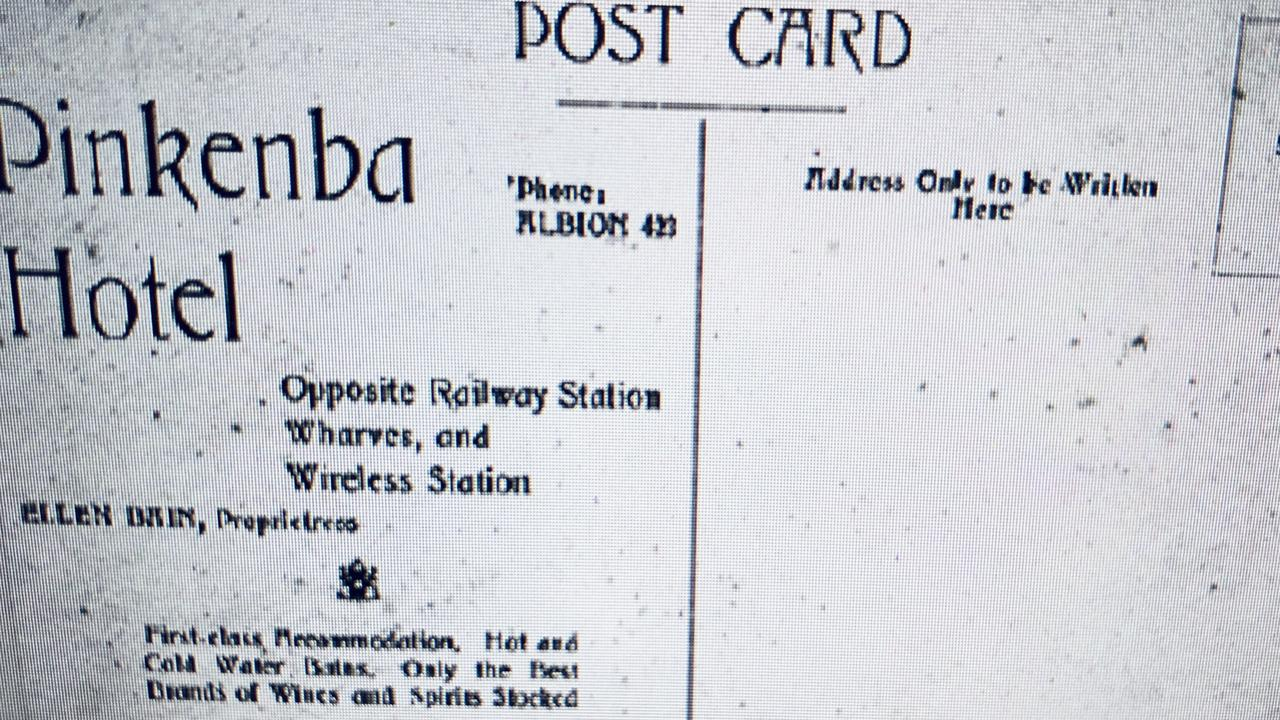 An original postcard from the Pinkenba Hotel.