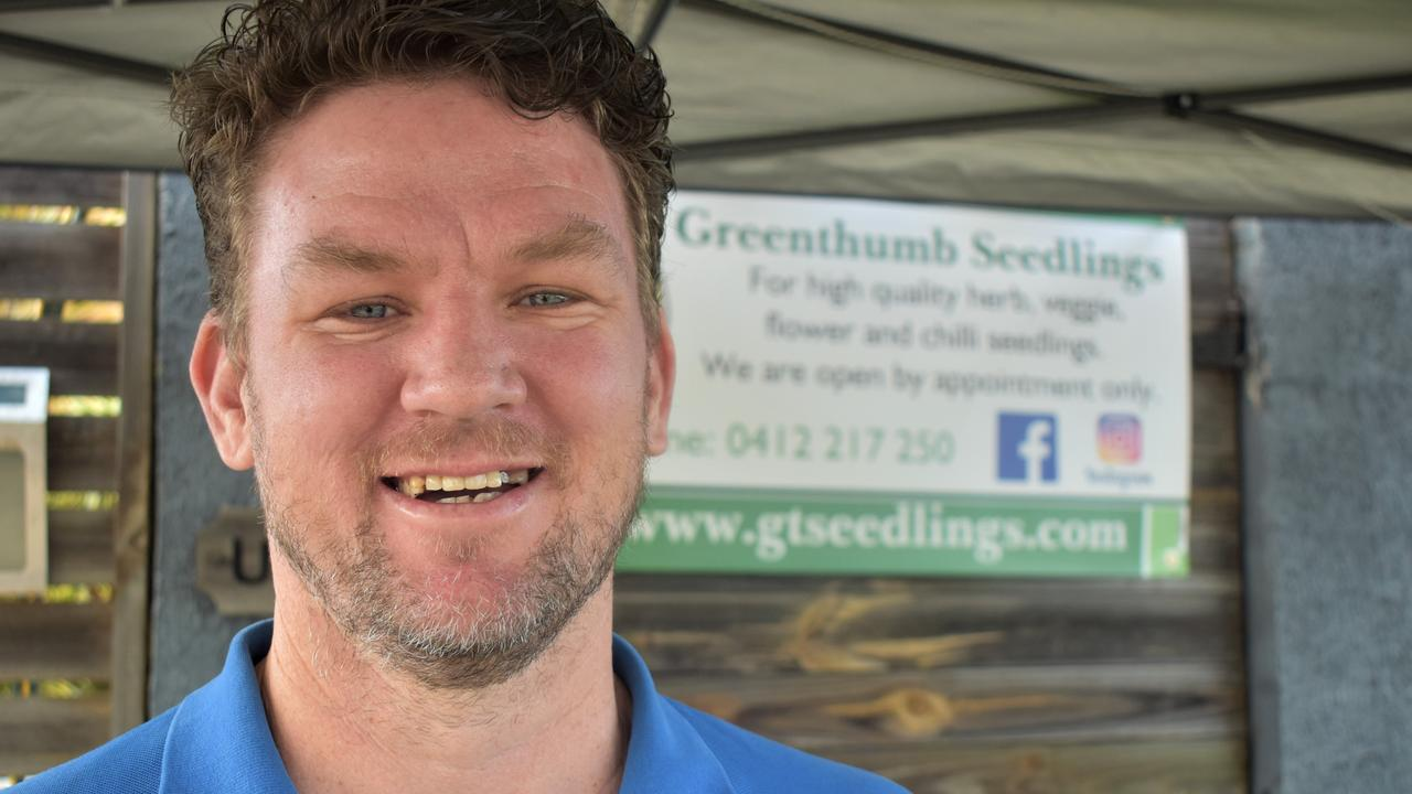 Greenthumb Seedlings Brendan Ban is holding an open day with a variety of seedlings on offer at 20 Burgess St, North Mackay. Picture: Heidi Petith